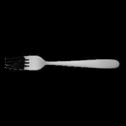 Dessert fork - Alpha all mirror