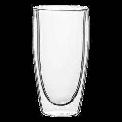 Cup 330 ml Set 4pcs - BASIC Glass Double Wall