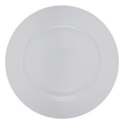 Flat plate 30 cm - Lunasol Hotelporzellain uni white