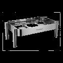 Frame for Full Size Chafer 1/1 - Lunasol Service CNS 18/10