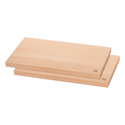 Chopping board 26.5x15.5x1.5 cm ,Set 2pcs - BASIC Wooden