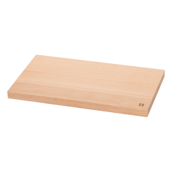 Chopping board 26.5x15.5x1.5 cm - BASIC Wooden