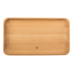 Wooden tray large 30 x 17 cm - FLOW Wooden