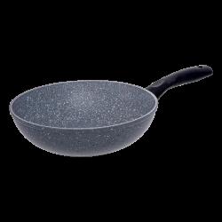 Wok ø 24cm ceramic Marble coating - Basic Lunasol Induction