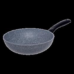 Wok Ø 26 cm ceramic Marble coating - Basic Lunasol Induction