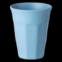 Cup Octagon 300ml, light blue - FLOW Bamboo Fiber