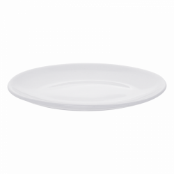 Plate oval 22 cm - Lunasol Hotelporzellan uni white