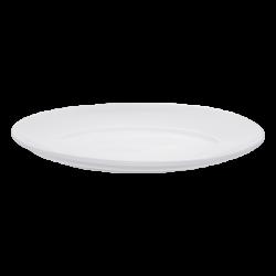 Plate oval 36 cm - Lunasol Hotelporzellan uni weiss