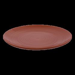 Flat Plate Coupe 28 cm Spiral - Gaya RGB taupe gloss Lunasol