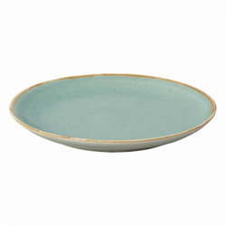 Flat Plate 28 cm - Gaya Sand turquoise Lunasol