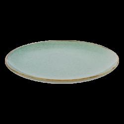 Flat Plate 23 cm - Gaya Sand turquoise Lunasol