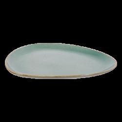 Platte oval 30 cm Triangle - Gaya Sand türkis Lunasol