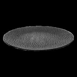 Flat Plate Coupe 25 cm - FLOW Raised Structur black / grey