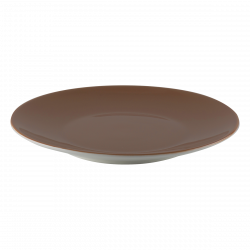 Coupe Plate 25 cm - RGB taupe gloss Lunasol