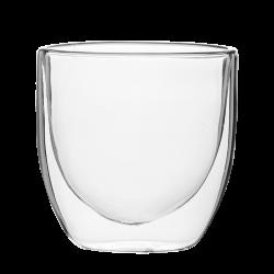 Cup 250 ml Set 4pcs - BASIC Glass Double Wall