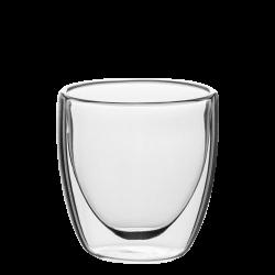 Cup 80 ml Set 4pcs - BASIC Glass Double Wall