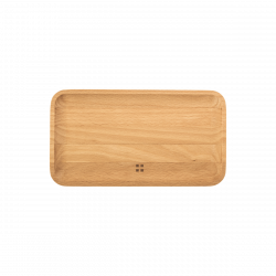 Wooden tray small 20 x 11 cm - FLOW Wooden
