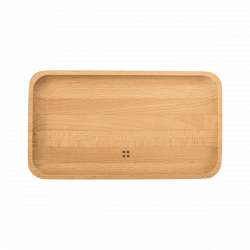 Wooden tray medium 25 x 14 cm - FLOW Wooden