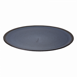 Pizza plate 35 cm blue - Hotel Inn Chic color