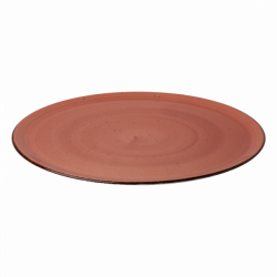 Pizza plate 35 cm terracotta - Hotel Inn Chic color