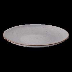 Plate flat 31 cm grey - Hotel Inn Chic color