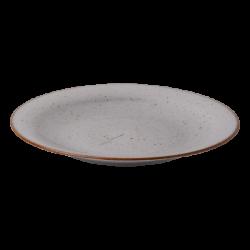 Plate flat 25 cm grey - Hotel Inn Chic color