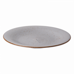 Plate flat 28 cm grey - Hotel Inn Chic color