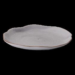 Plate flat Cloud 28 cm grey - Hotel Inn Chic color
