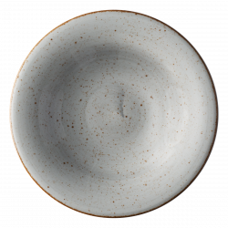 Plate deep 23 cm grey - Hotel Inn Chic color