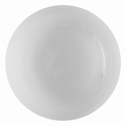 Bowl 21 cm - Elements Glass white sandblast