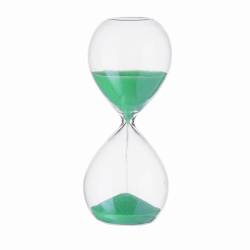 Hourglass green, 3 - 4 minutes, 12.5 cm - S-Art