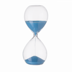 Hourglass blue, 3 - 4 minutes, 12.5 cm - S-Art