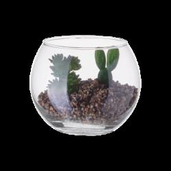 Vase Ball with Deco-Plants ⌀ 10 cm