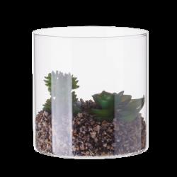 Vase with Deco-Plants ⌀ 10 cm