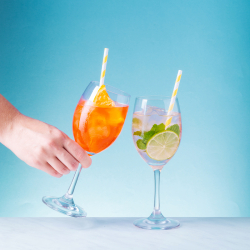 Wine Glass Chardonnay set 4-pcs. - BASIC Glass Crystal