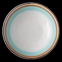 Deep Plate Coupe 195mm - Gaya RGB Rustico gloss Lunasol