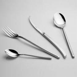 Vegetable serving spoon - Avantgarde Elite sandblast