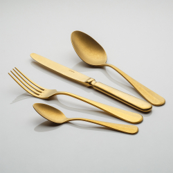 Table Fork - Baguette Vintage PVD Gold Stone Wash
