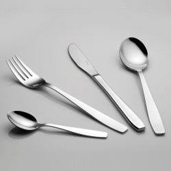 Cake fork - Europa II all mirror