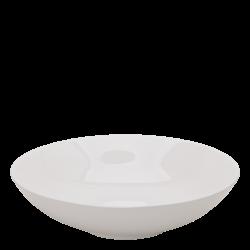 Bowl ø 21.5 cm H: 5.5 cm - Gaya Atelier white