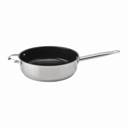 Frypan high w/o lid, Ø 28cm, 8.5 cm with ceramic coating - Orion Lunasol Pans Collection CNS 18/10