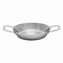 Gratin-/Serving Pan 18 x 4 cm - Sirius Triply Lunasol Pans mirror