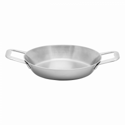 Gratin-/Serving Pan 22 x 4.5 cm - Sirius Triply Lunasol Pans mirror