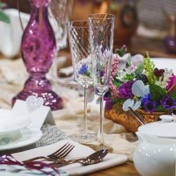 Champagne Glass 130 ml, set 2-pcs. - Gaya Glas Premium