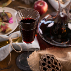 Red Wine glass 200 ml, set 2-pcs. - Gaya Glas Premium