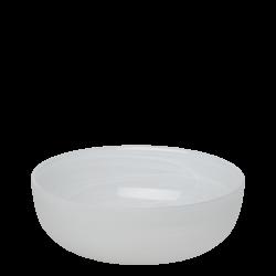 Bowl 21 cm - Elements Glass white sandblast
