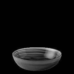 Bowl 18 cm - Elements Glass black sandblast