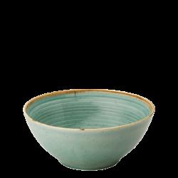 Bowl 20 cm Spiral - Gaya Sand turquoise Lunasol