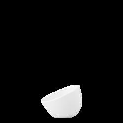 Bowl aslope small, 9 cm - Flow Eco white Lunasol