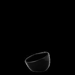 Bowl aslope small, 9 cm - Flow Eco black Lunasol